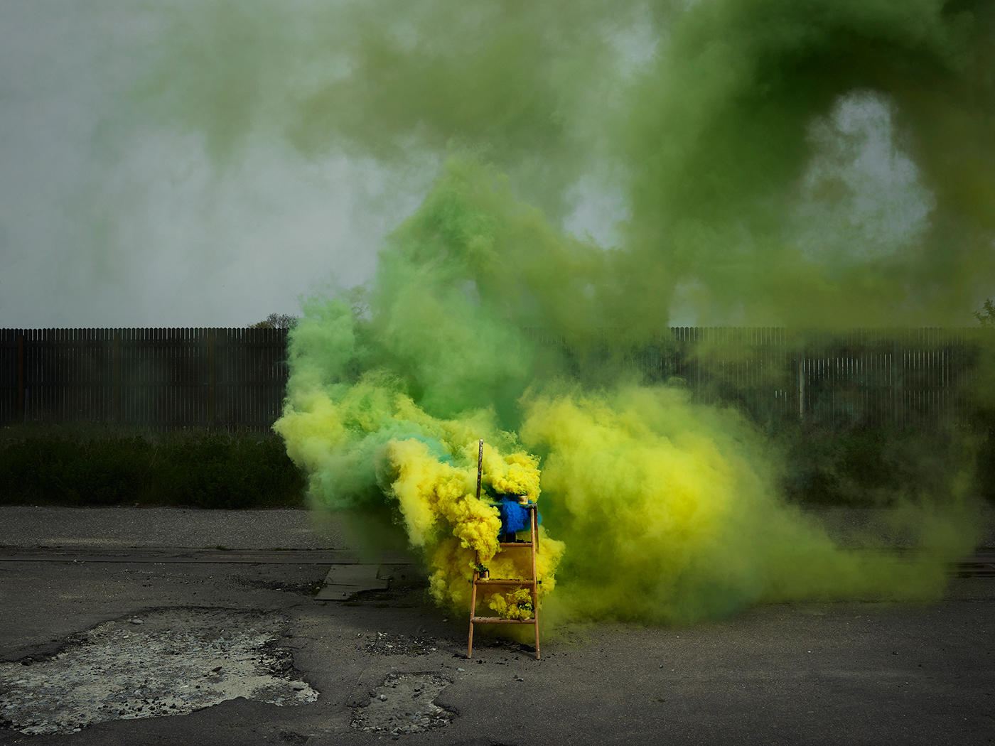 Creative & Colorful Smoke Photography