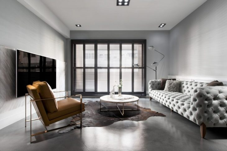 T.M Design Studio  designed this lovely apartment located in Taichung City, Taiwan.