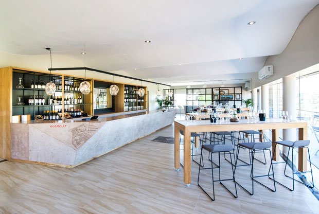 Glenelly Estate Bistro and Tasting Room by Inhouse Brand Architects