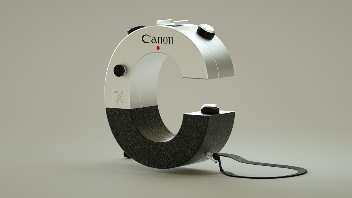 Electronics Typography by Vinicius Araujo