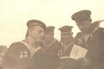 Старшины краснознамённой гвардейской Щ-402, лето 1943г.