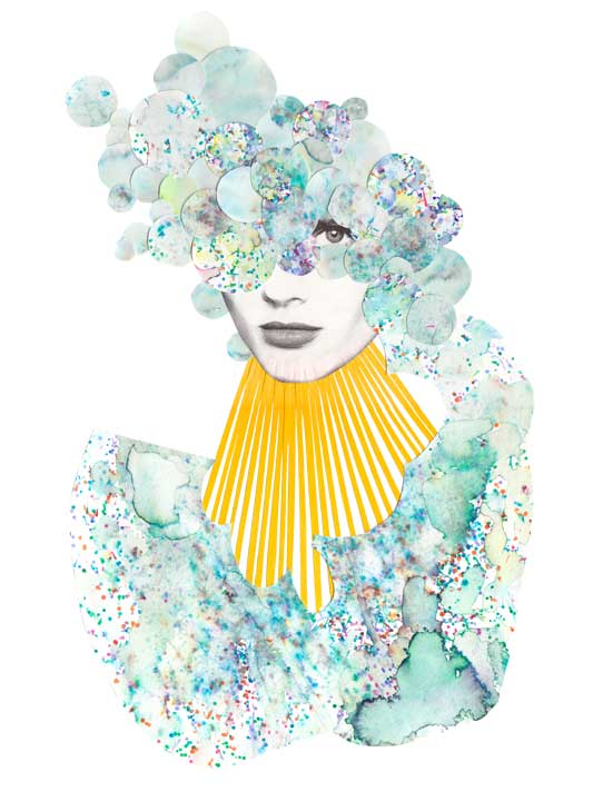 Colorful Illustrations and Collages by Niky Roehreke
