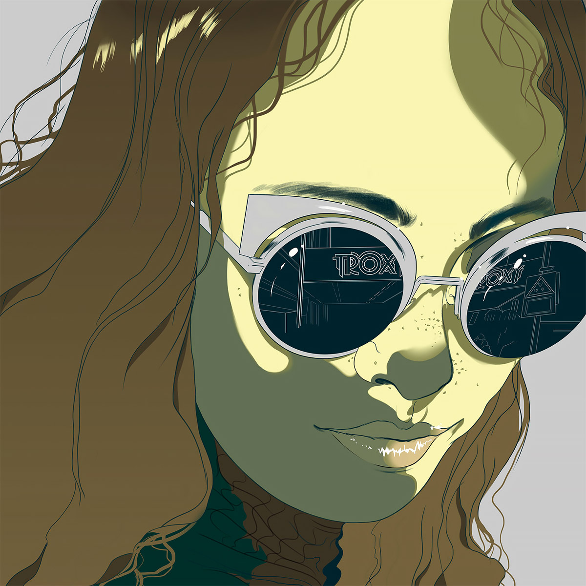 Comic Book-Inspired Illustrations by Janelle Barone