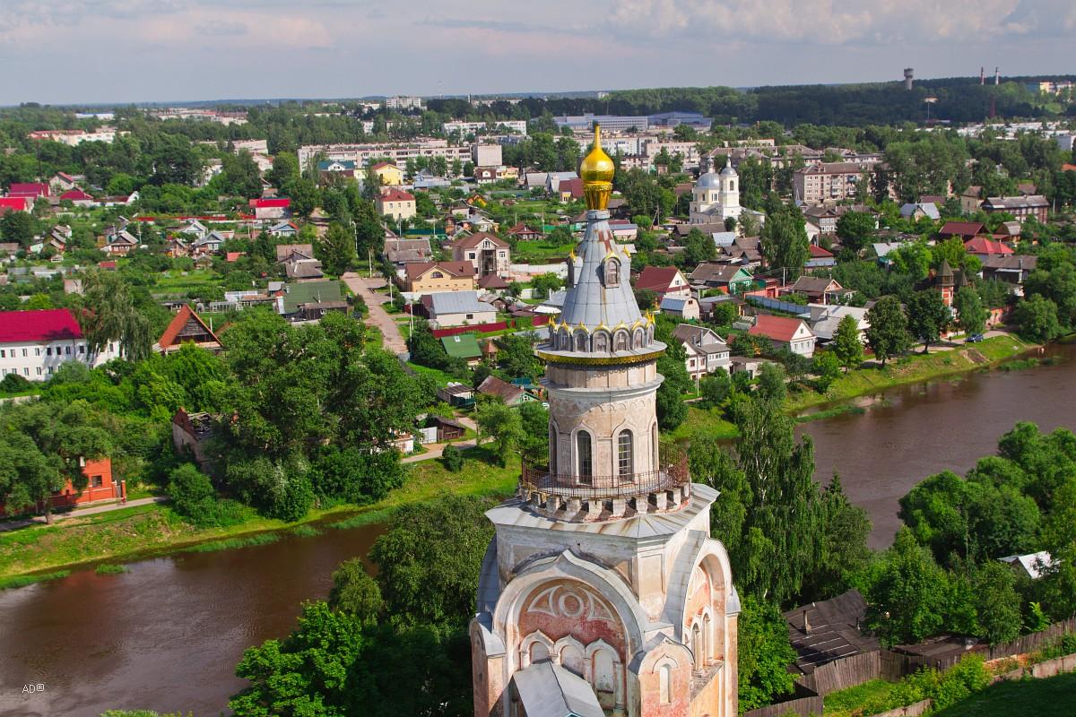 Свечная башня Борисоглебского монастыря
