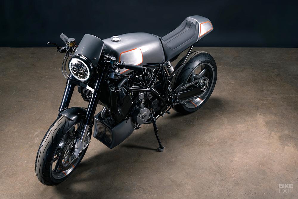 Analog Motorcycles: кафе рейсер KTM 990 Super Duke 2007 - Archduke