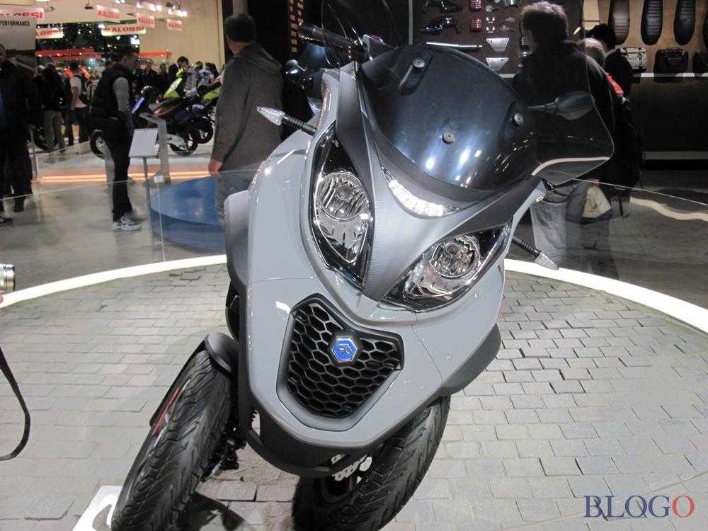 EICMA 2017: трёхколёсные скутеры Piaggio MP3 350/500 2018