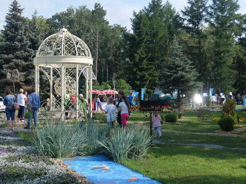 Омск - Выставочный сквер