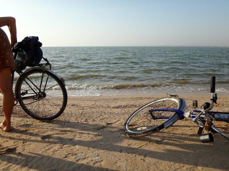 У моря, вечереет, в пути ... 41. Фото из велокольца. Ахтари-Староминская-Бейсугский пролив (239).JPG