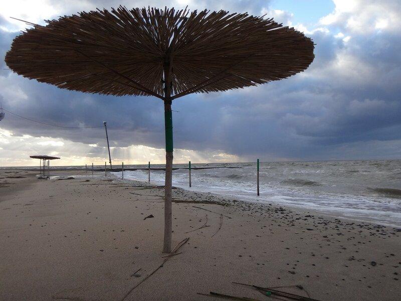 Летнее укрытие ... На финише октября, в городе у моря Азовского. (89).JPG