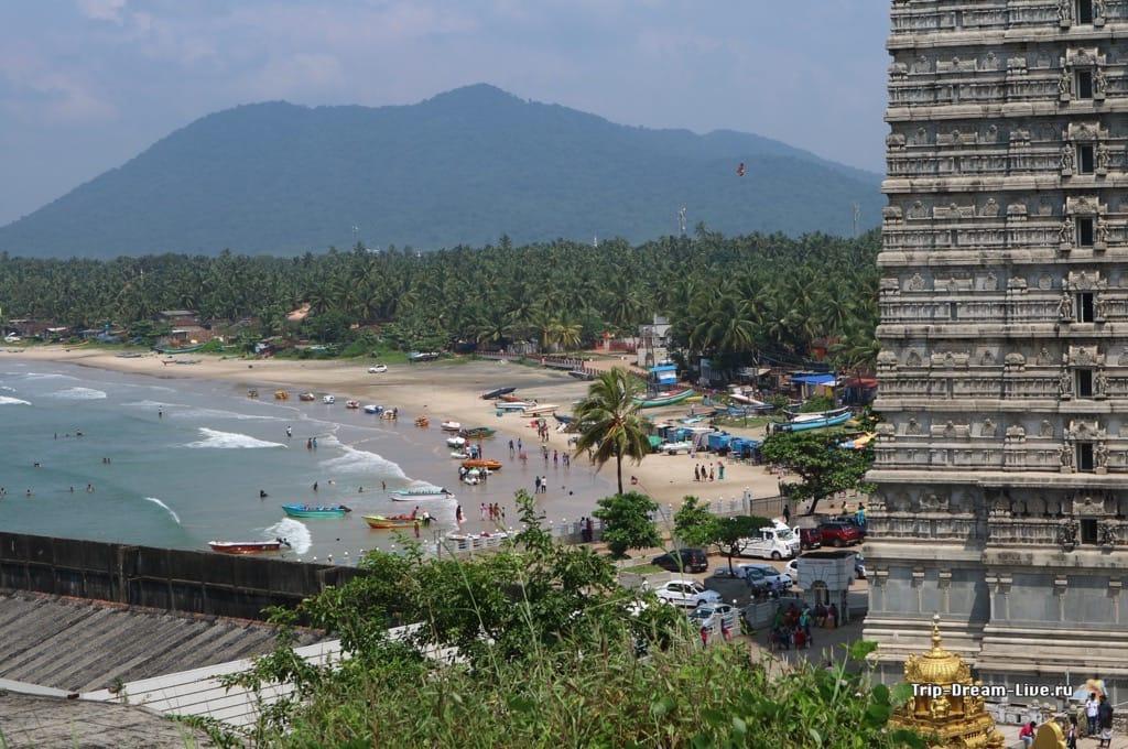 Пляж в Мурдешваре