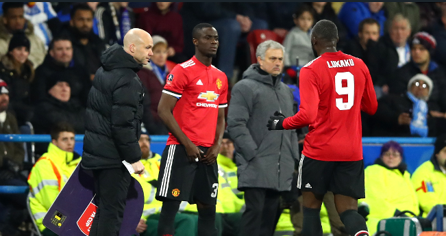 Manchester United player Eric Bailly could be set for new role