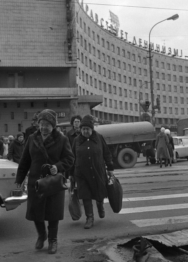 1970-е. Охта