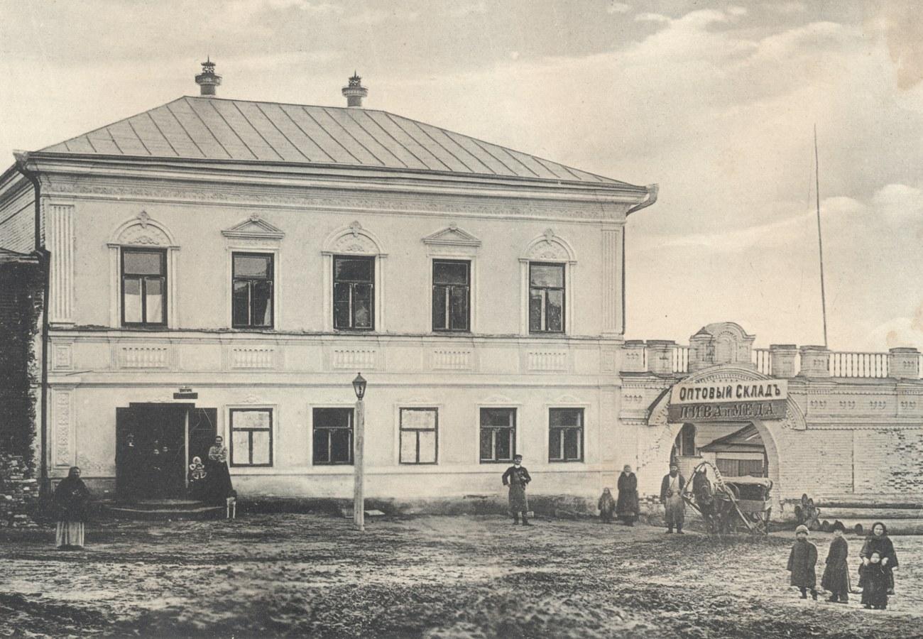 14. Склад Жигулёвского пивзавода в пос. Дубовка