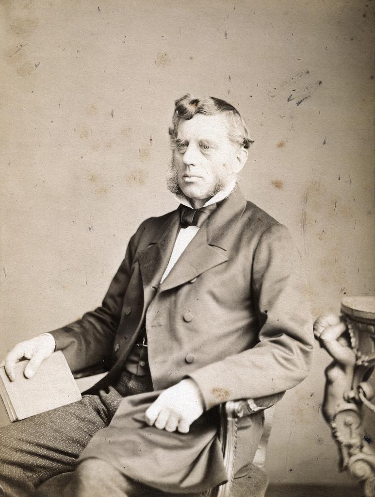 1858. Политик, промышленник и энтузиаст научных исследований, Уильям Кавендиш (1808 - 1891), 7-й герцог Девонширский