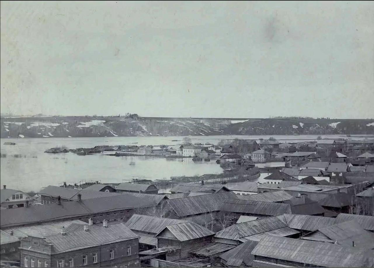 Вид на реку Ирень