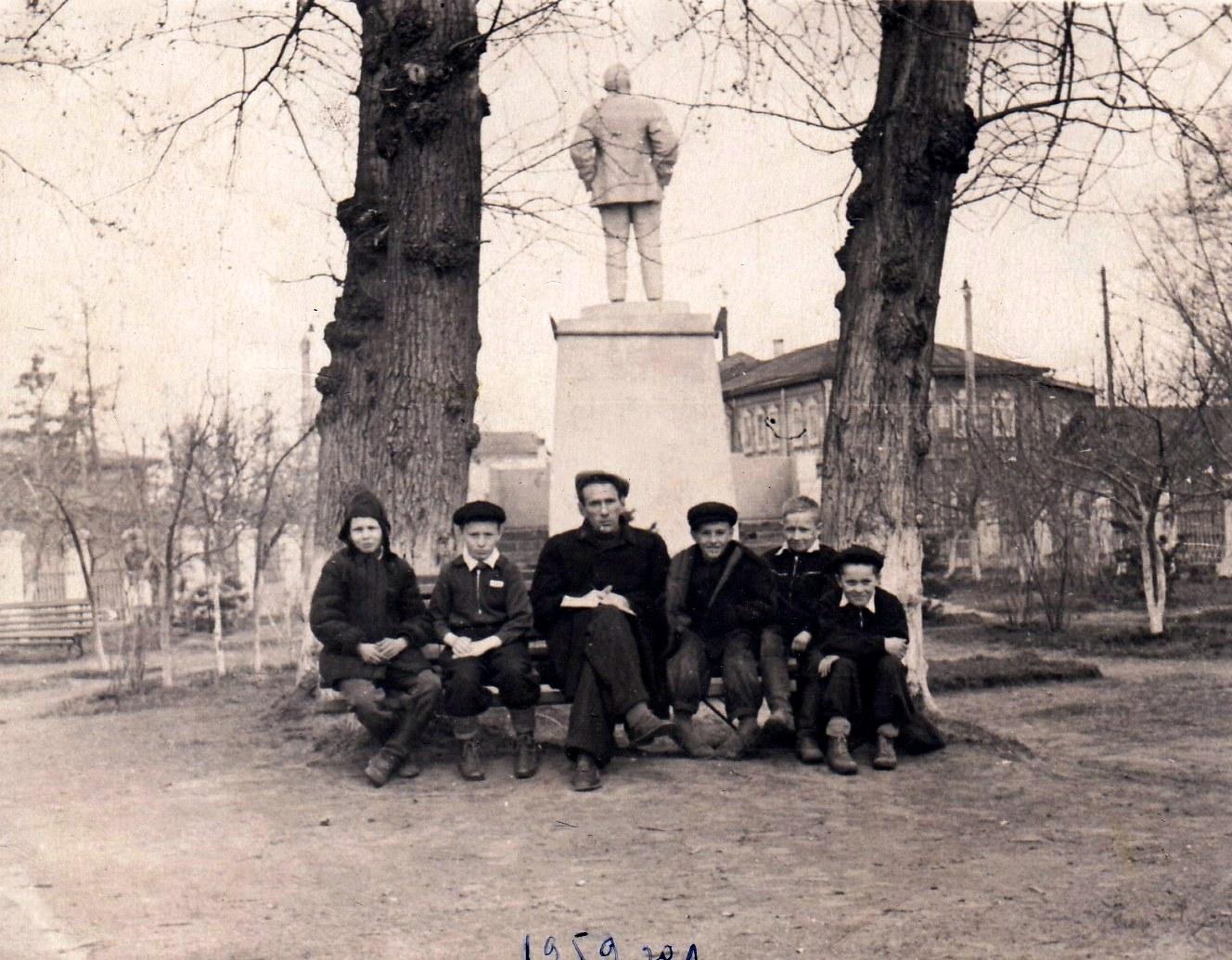 1959. Ленинский сквер