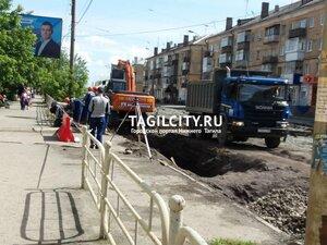 город,Нижний Тагил,ремонт,ремонт дорог,Космонавтов