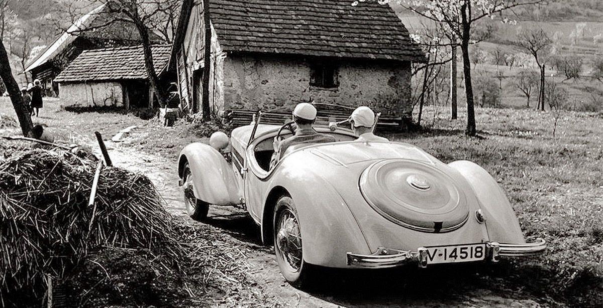Кабриолет АУДИ, 1939-го года
