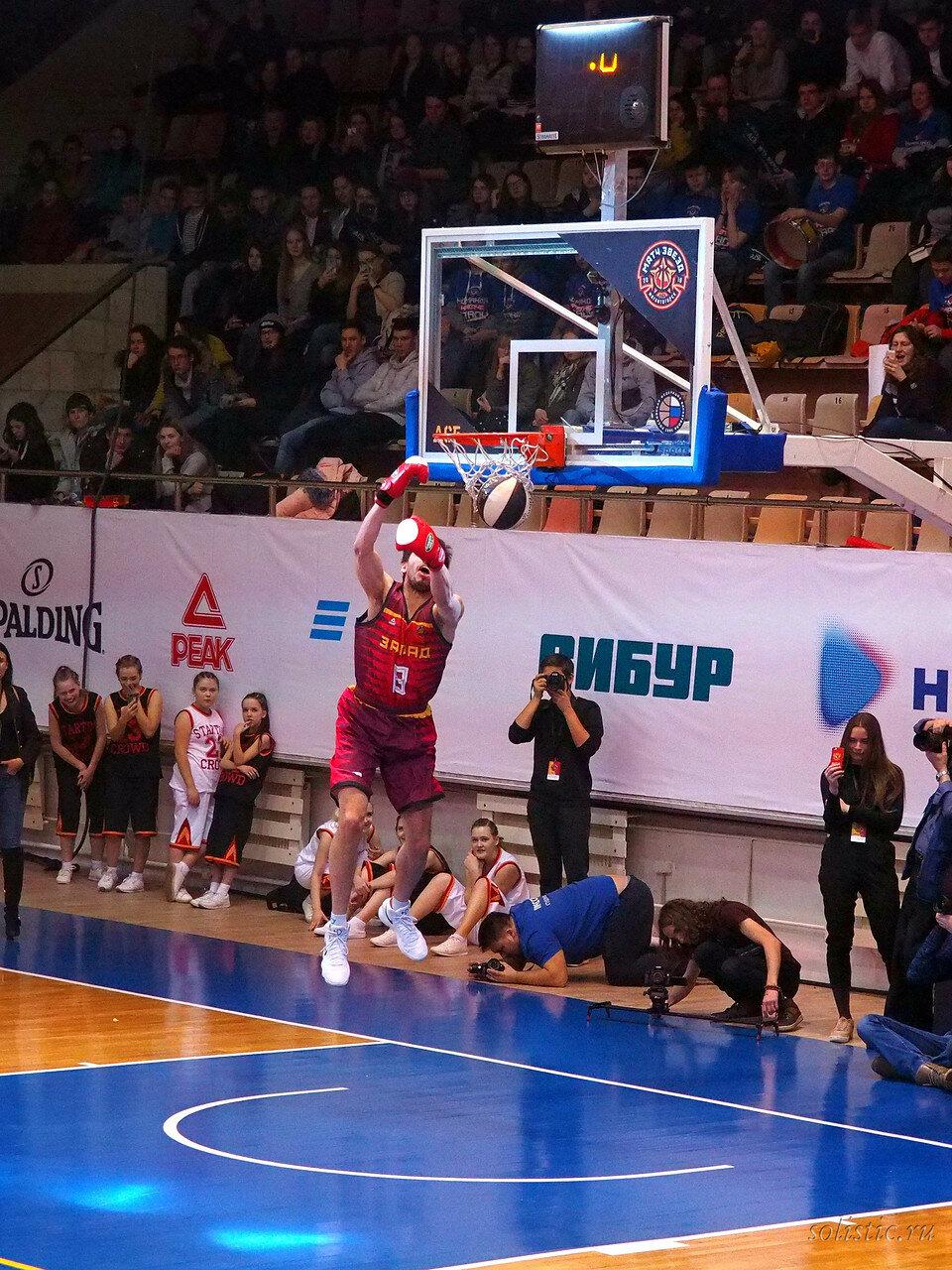 123 Матч звезд АСБ 2018 (ассоциации студенческого баскетбола)