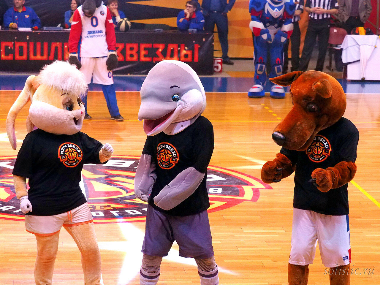 133 Матч звезд АСБ 2018 (ассоциации студенческого баскетбола)