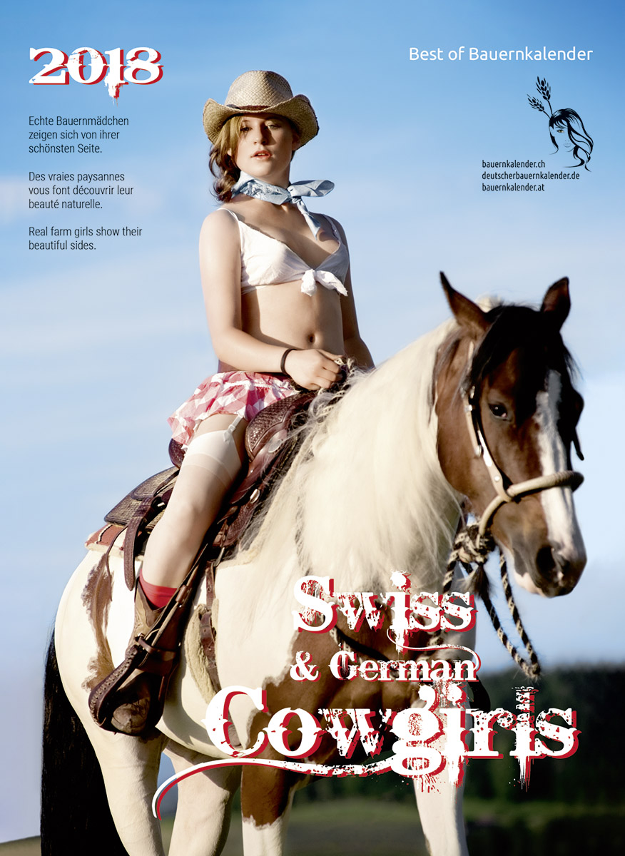 Календарь «Swiss Cowgirls 2018»