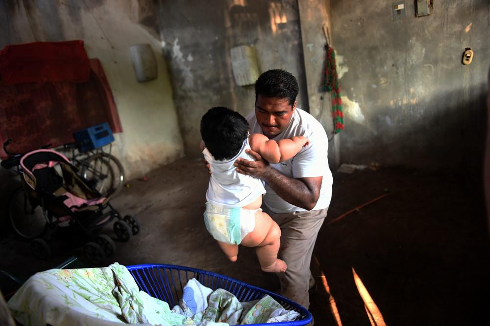 Мексиканский «малыш» в десять месяцев весит 28 кг