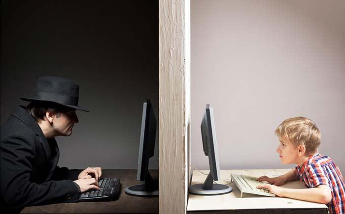 детей обманывают в Интернете