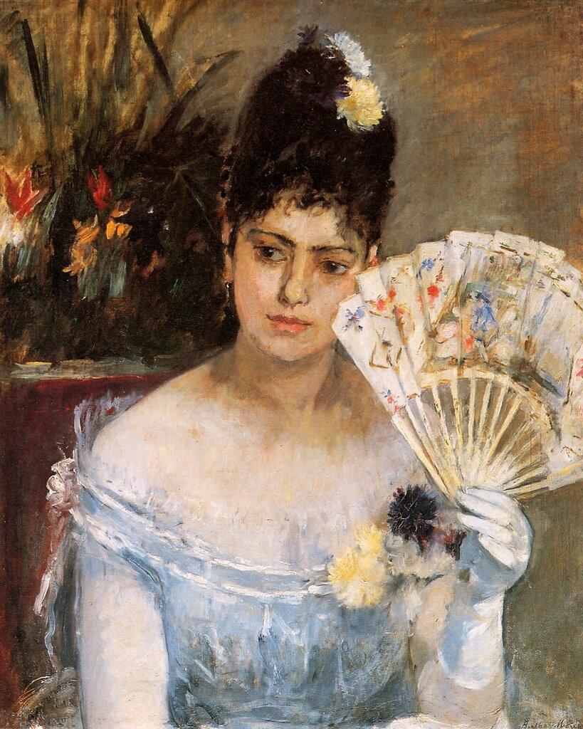Берта Моризо: На балу, 1875