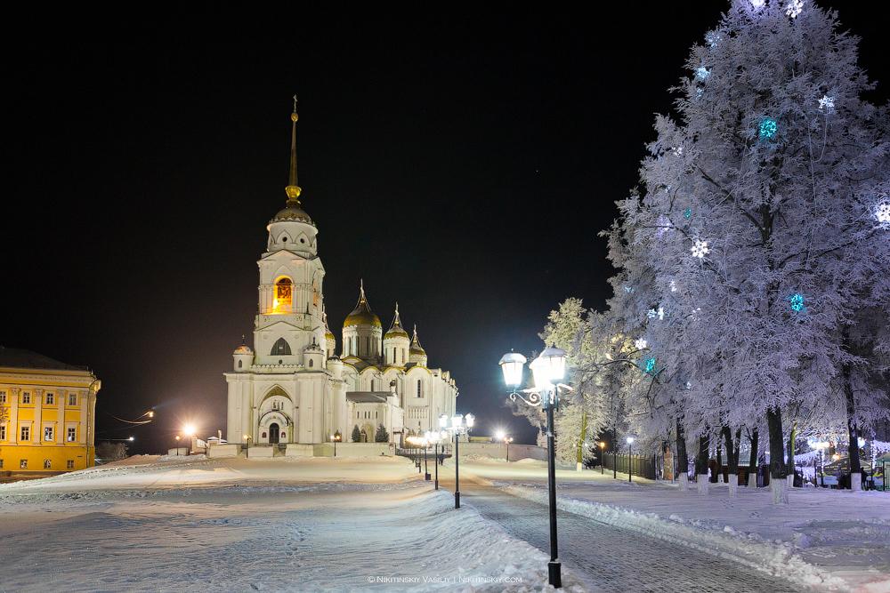 В центре Владимира