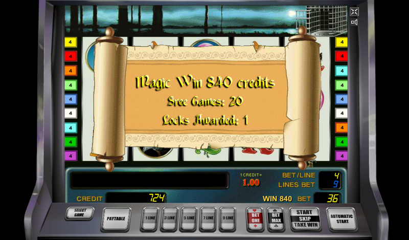 magic money slot magic win