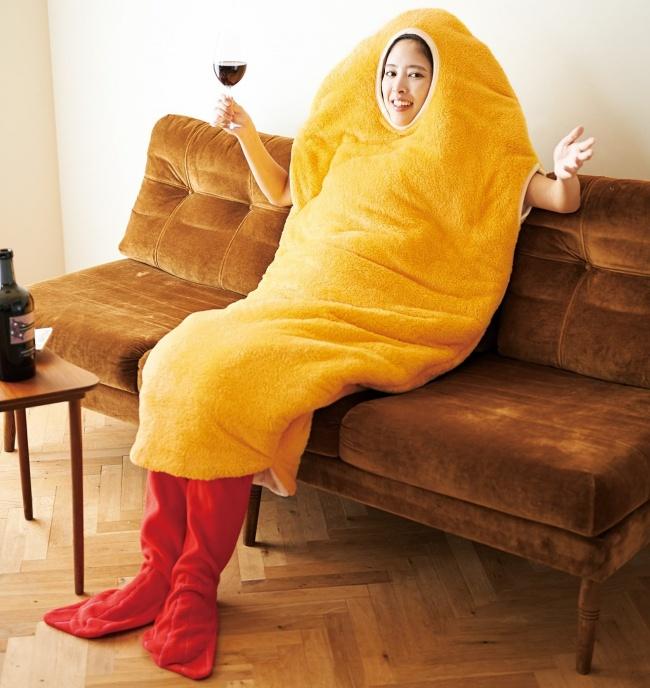 © felissimo     Хотите почувствовать себя жареной креветкой? Вот вам и костюмчик