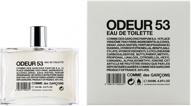 © comme-des-garcons-parfum      Туалетная вода Odeur 53 была выпущена Comme des