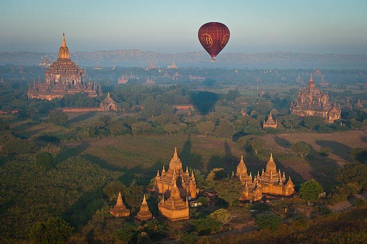 Как прекрасен этот мир…Полет на воздушном шаре (22 фото)