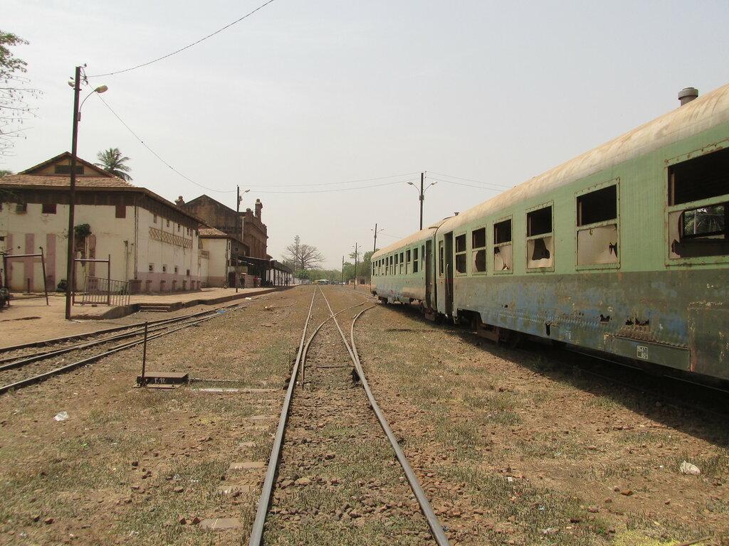 Железнодорожный вокзал Бамако