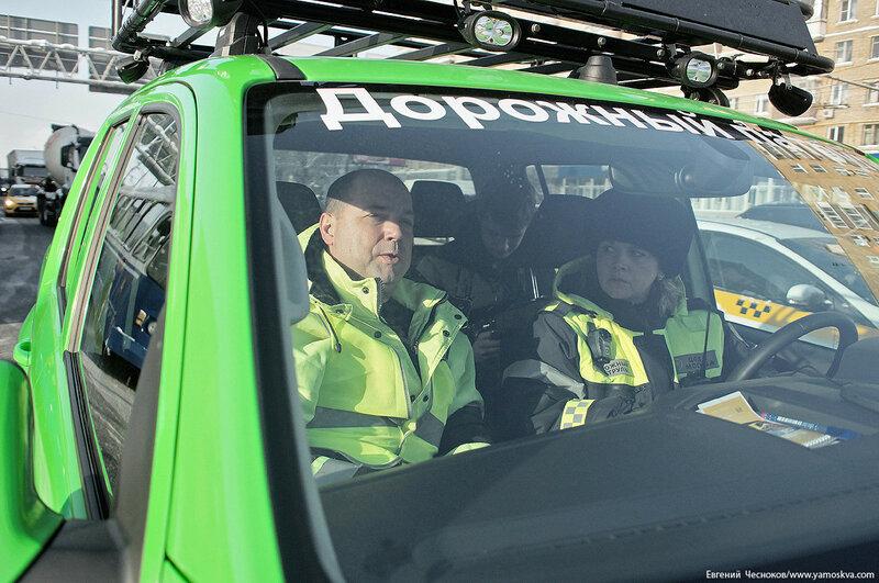Дорожный патруль. Сущёвский вал. 06.02.18.09..jpg