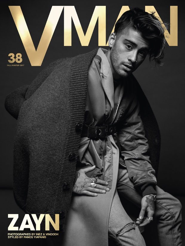 ZAYN MALIK TAKES VMAN COVERS – TALKS NEW ALBUM (5 pics)