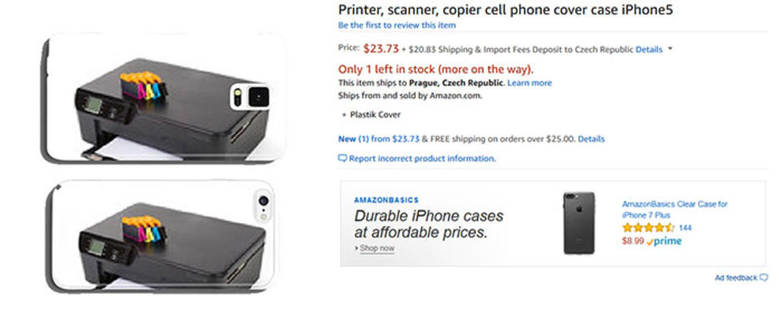 Artificial Intelligence floods Amazon with 30,000 crappy iPhone cases
