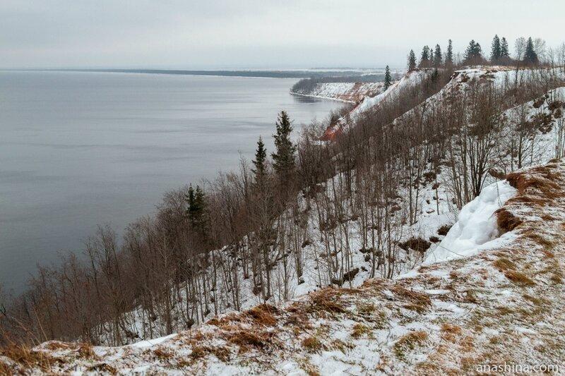 Андома-гора, Вологодская область, Онежское озеро