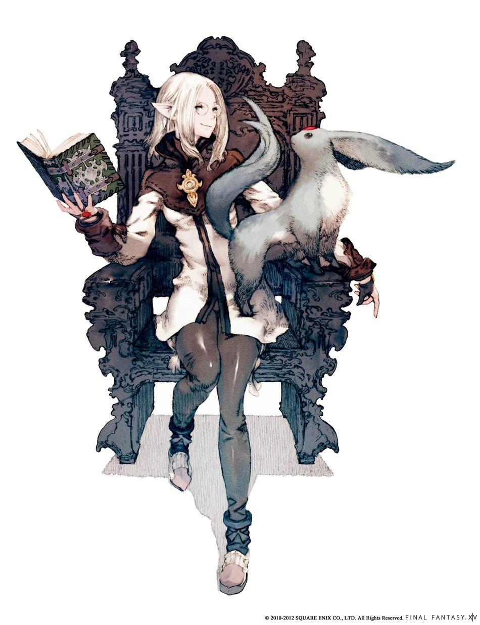 Final Fantasy XIV: A Realm Reborn Concept Art and Illustrations