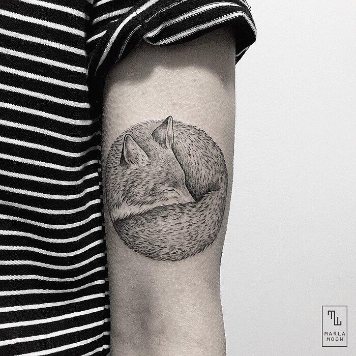 Pure Black and White Tattoos (11 pics)