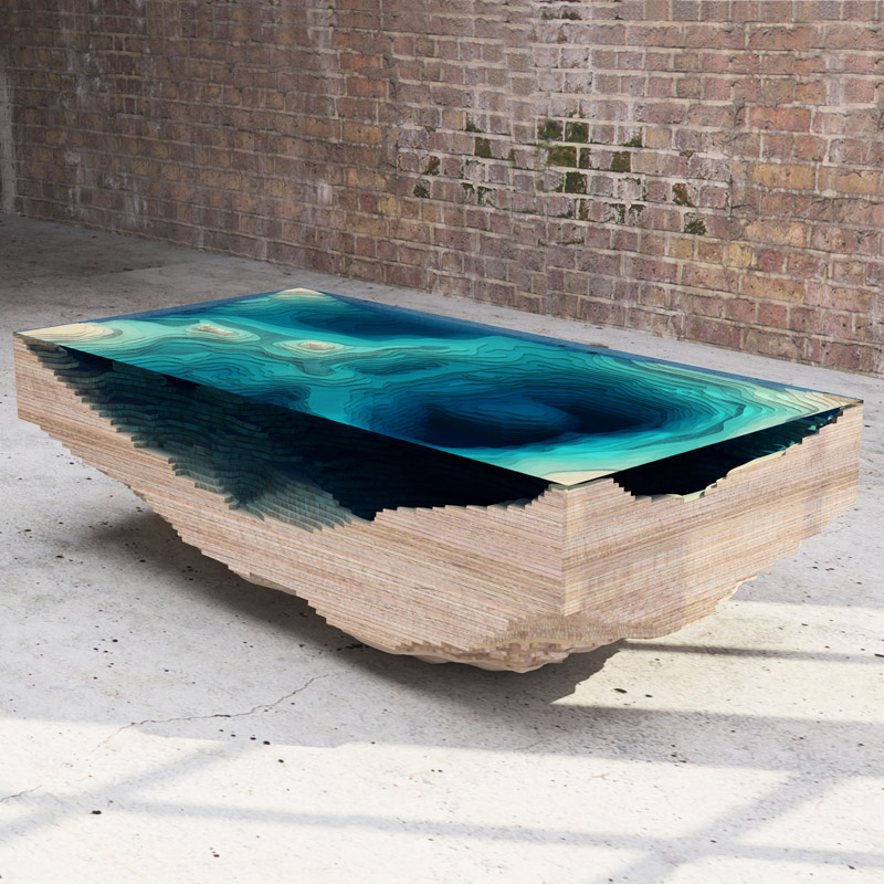 The Abyss Table by Duffy London (5 pics)
