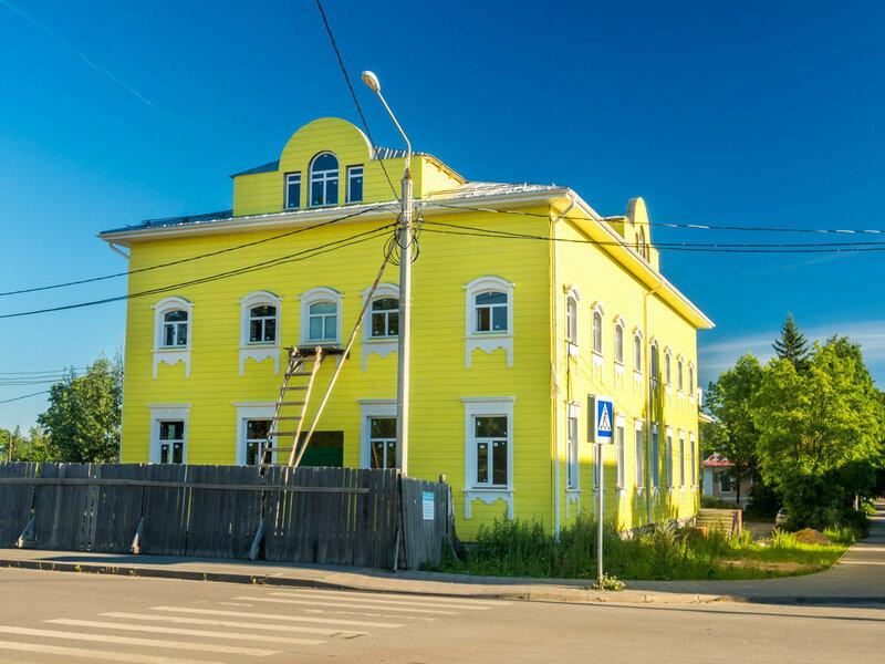 Жёлтый домик.
