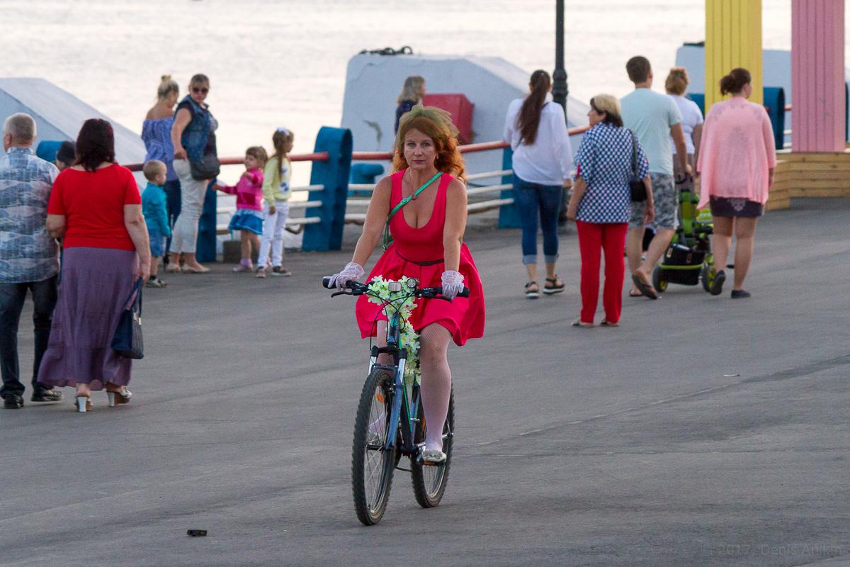 велопарад Леди на велосипеде фото 22