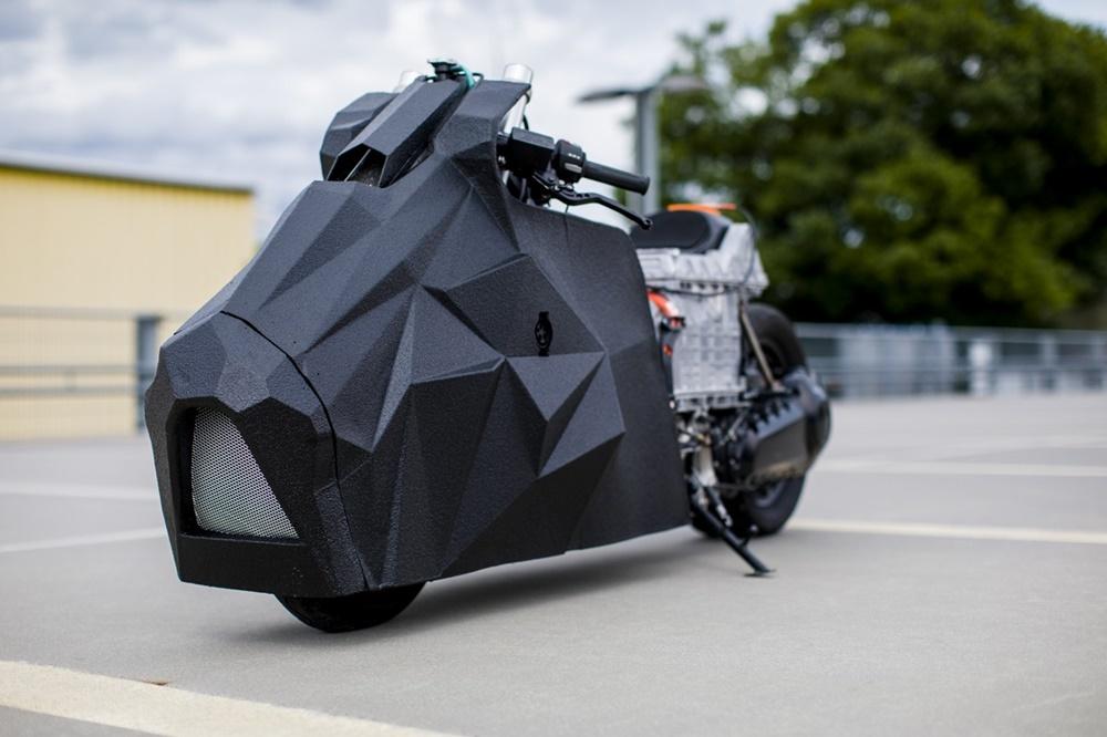Krautmotors: электрический драгбайк BMW C Evolution