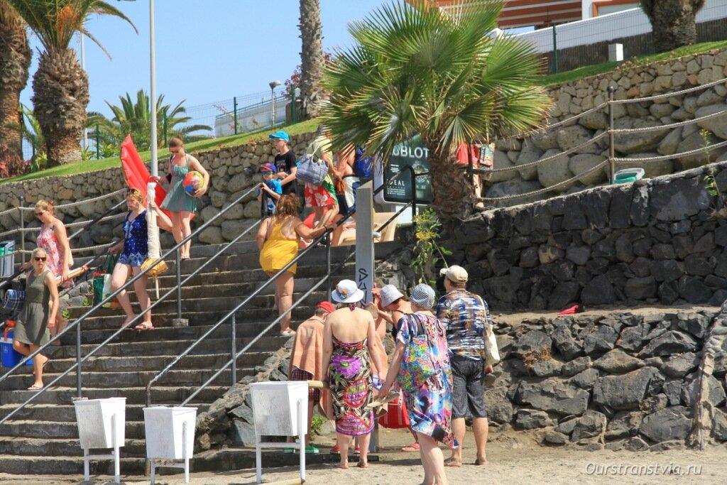 Пляжи Тенерифе – Описание дель Дюк, Коста Адехе