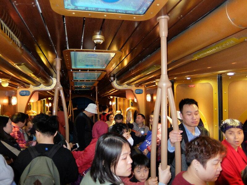 Гонконг - Oкеанический парк - Океанический экспресс