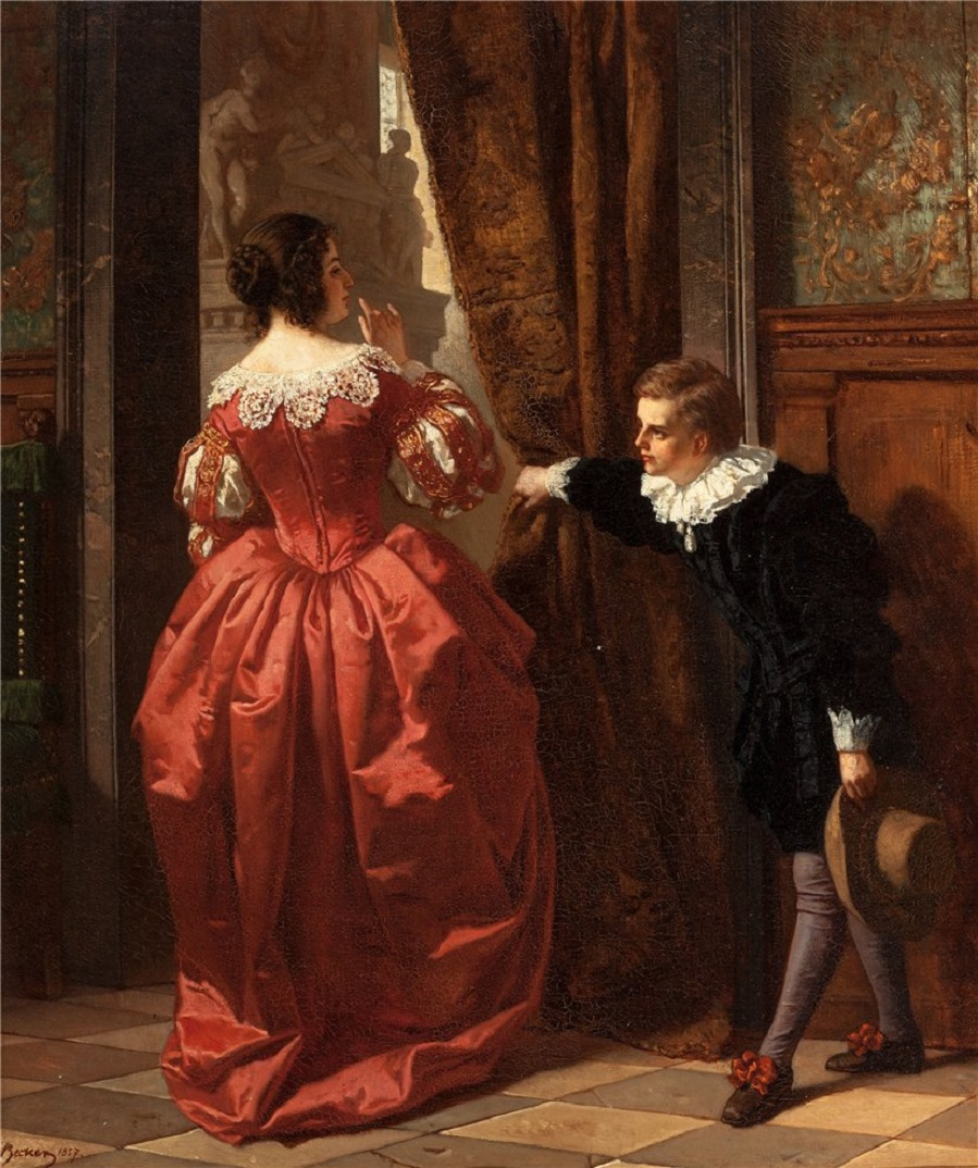 The Paige (Behind the Curtain), 1857