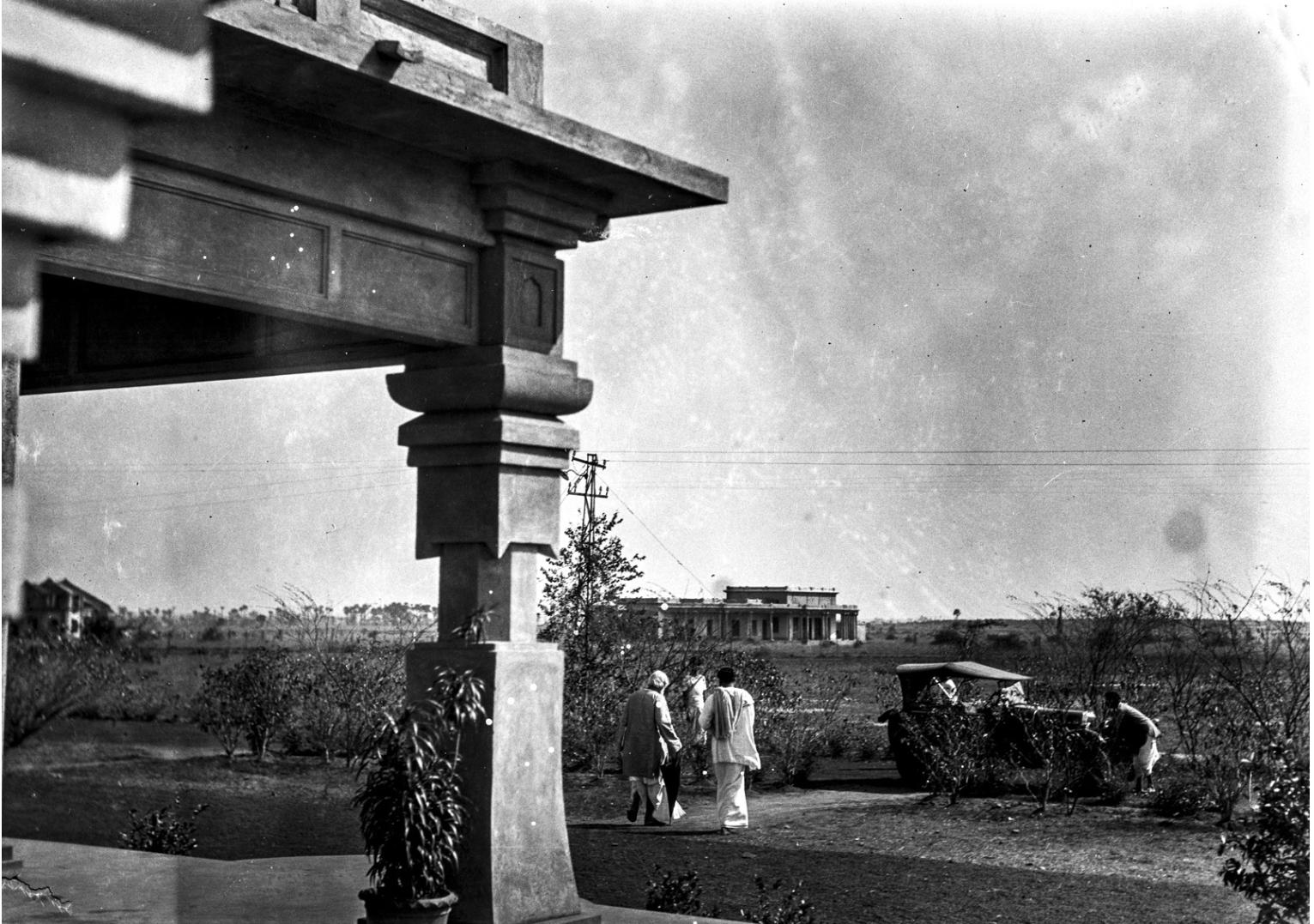 1317. Здание основанного Рабиндранатом Тагором университета Висва-Бхарати