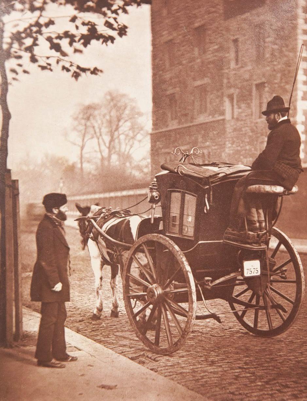 1877. Лондонский извозчик