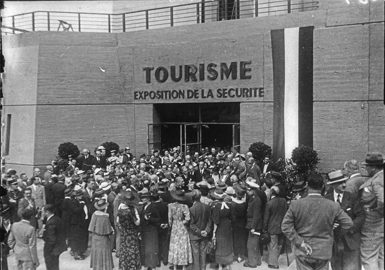 Павильон Туризма. Открытие